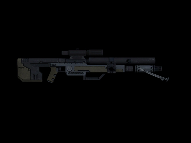The Verpine Sniper Rifle - Silent AND Deadly