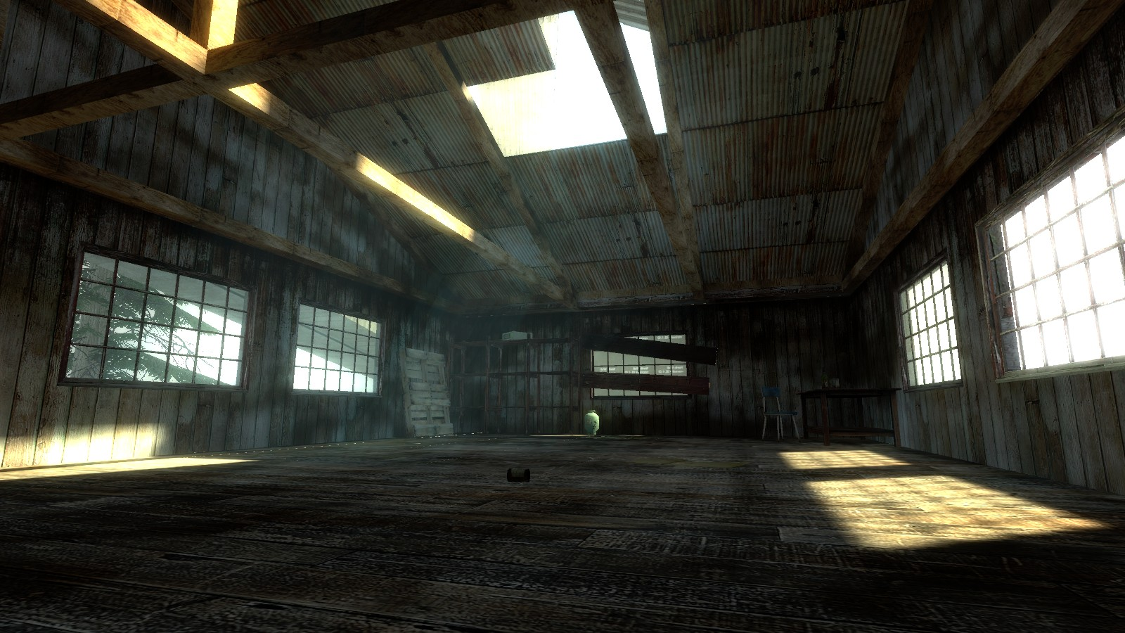 factory first room