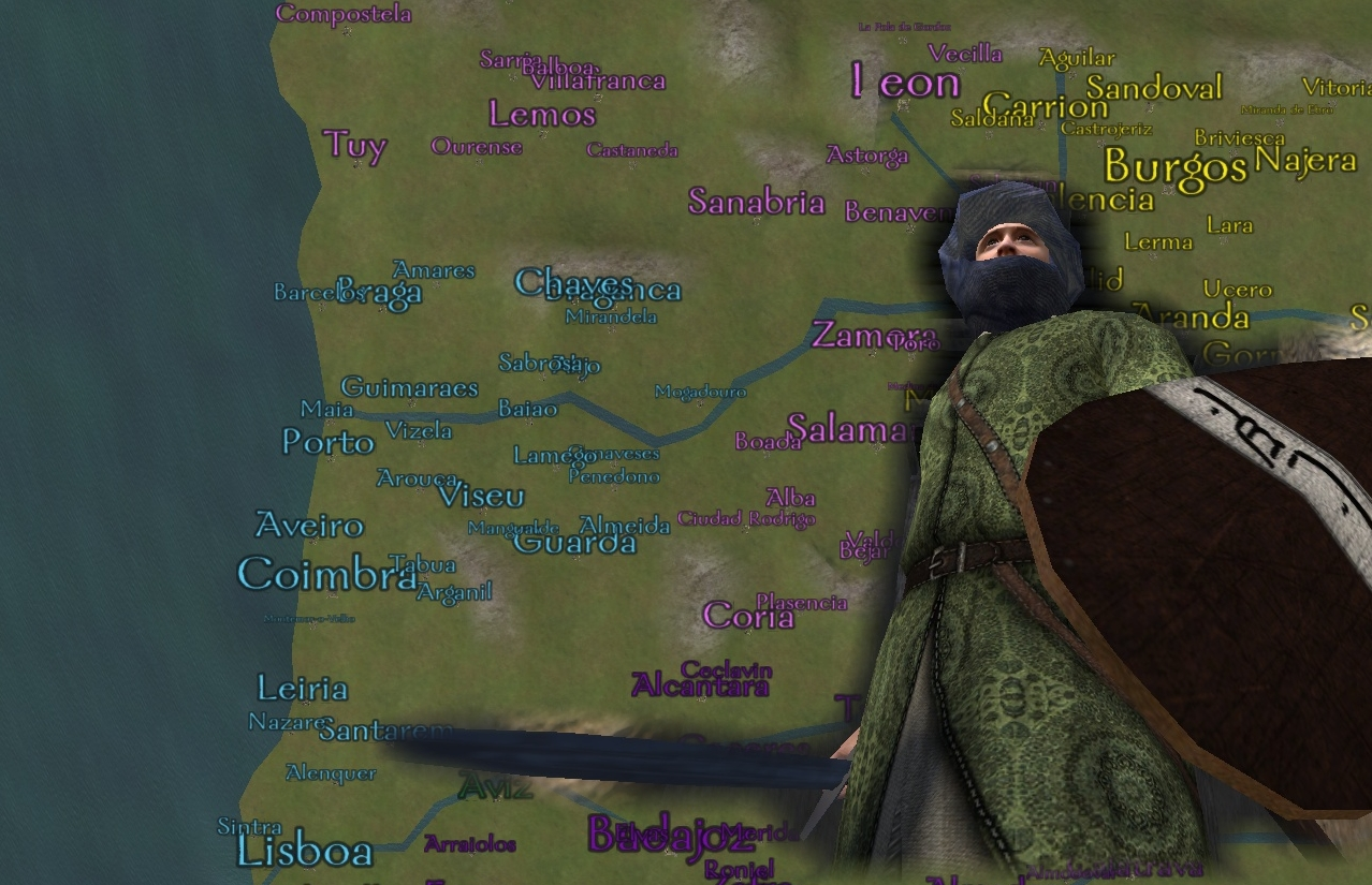 New Page For Europe S Progress On Warband News Mod DB - Portugal map in 1200