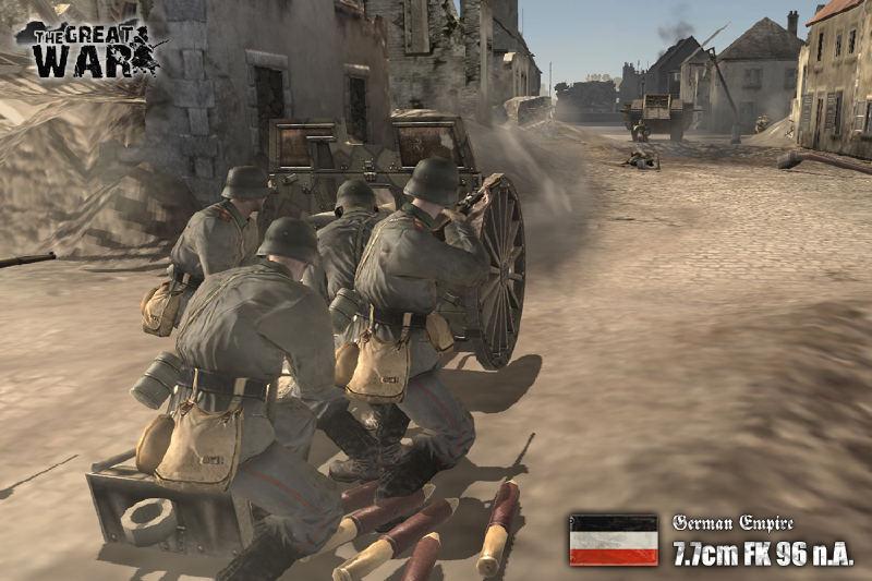 German War Machine news - The Great War 1918 mod for Company of