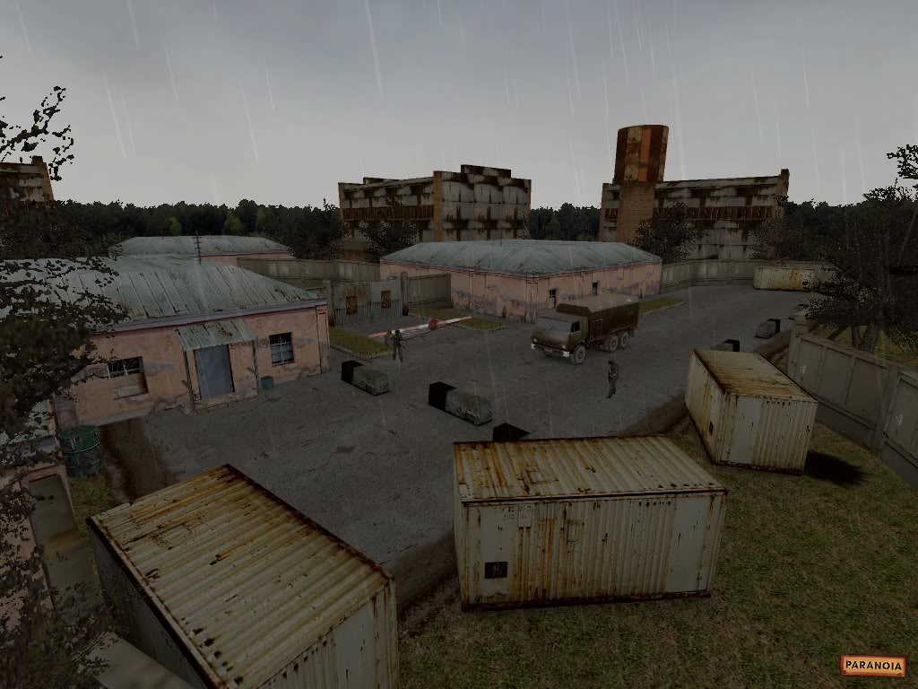 This screenshot from 2005 shows just how much detail the game already had midway through development.