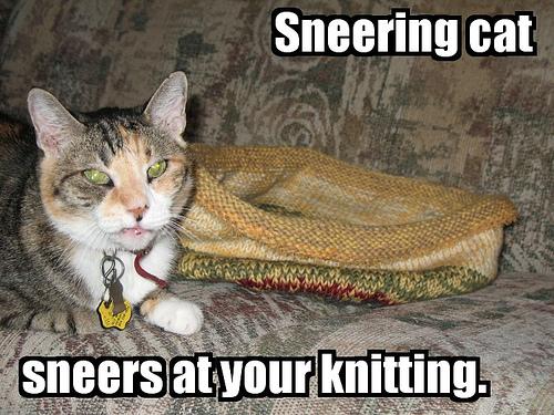 sneering