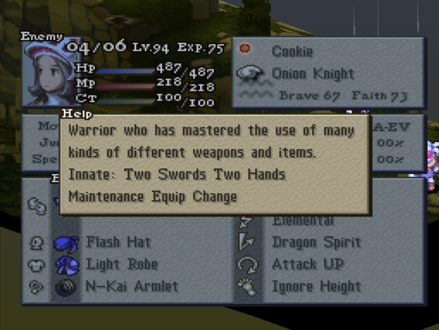 Poaching - Final Fantasy Tactics: The War of the Lions ...