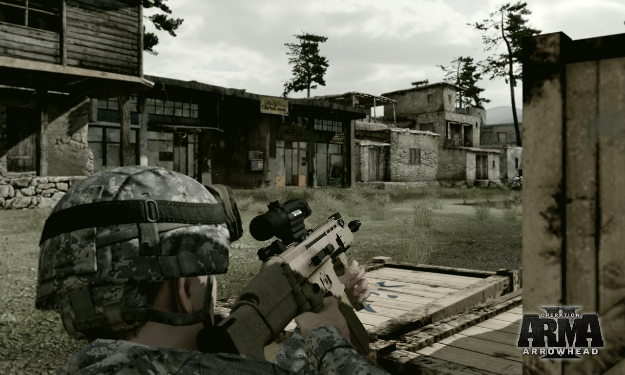 ArmA2 Operation Arrowhead прохождение кампании.