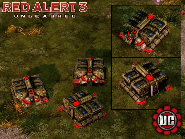 Моды для Red Alert 3 Uprising