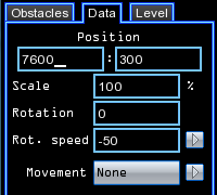 obstacle datas