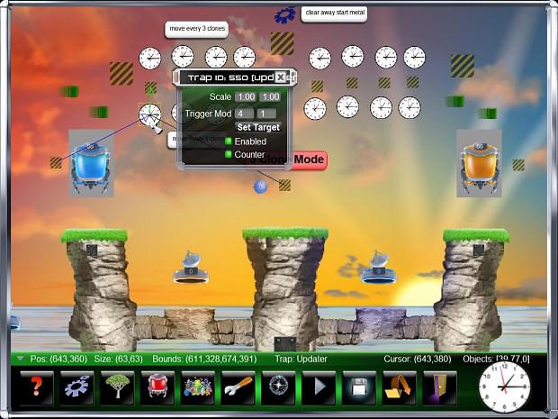 Clones Level Editor
