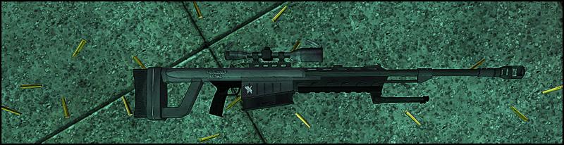 A .50 caliber head remover.