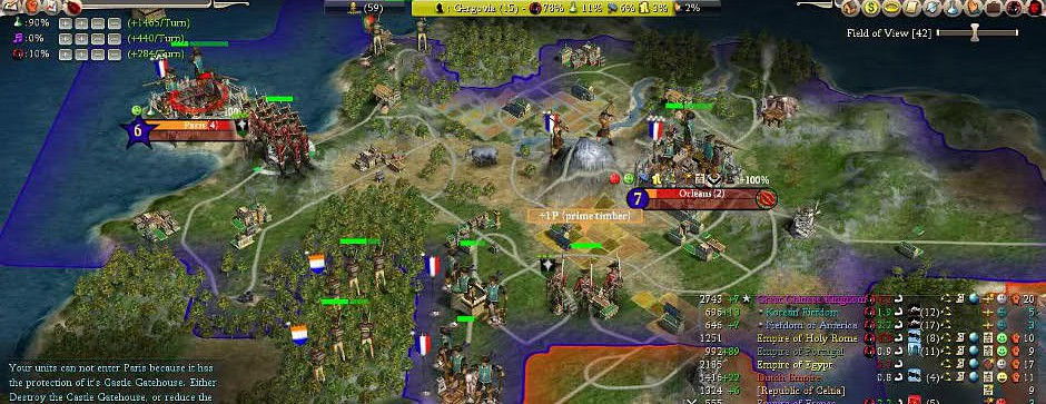 Fall From Heaven II mod for Civilization IV: Beyond the Sword - Mod DB