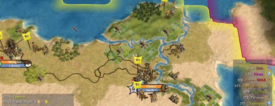 The Ancient Mediterranean mod for Civilization IV: Beyond the Sword ...