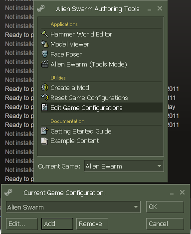 how to open a games launch options steam