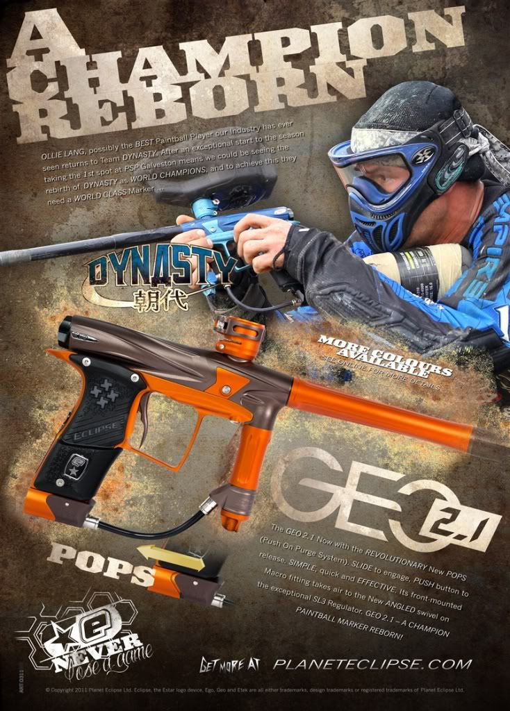Planet Eclipse Releases GEO 2 1 :D news - Paintball group - Mod DB