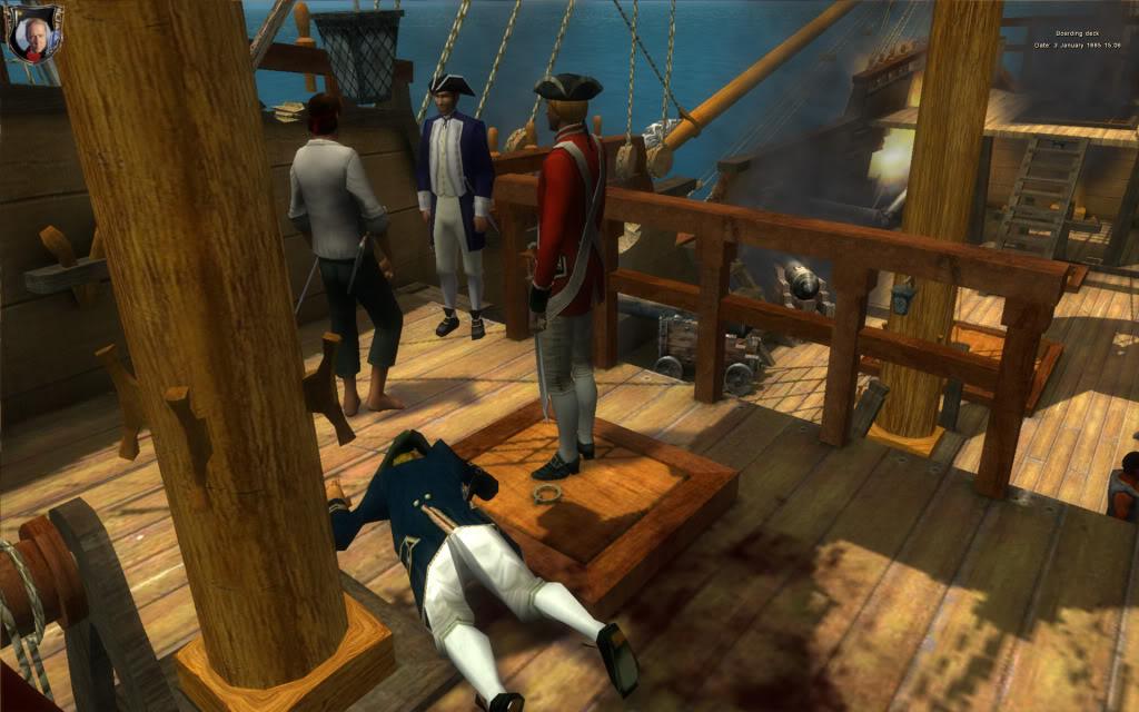 Deck action 2