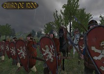Troops of the Kingdom of Bohemia moving