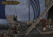 Venice Takes Part on a Naval Battle
