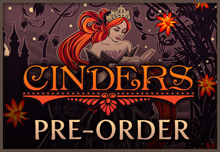 Cinders pre-orders are open!