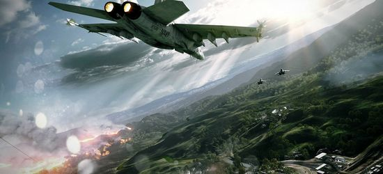 Battlefield 3 jet screen