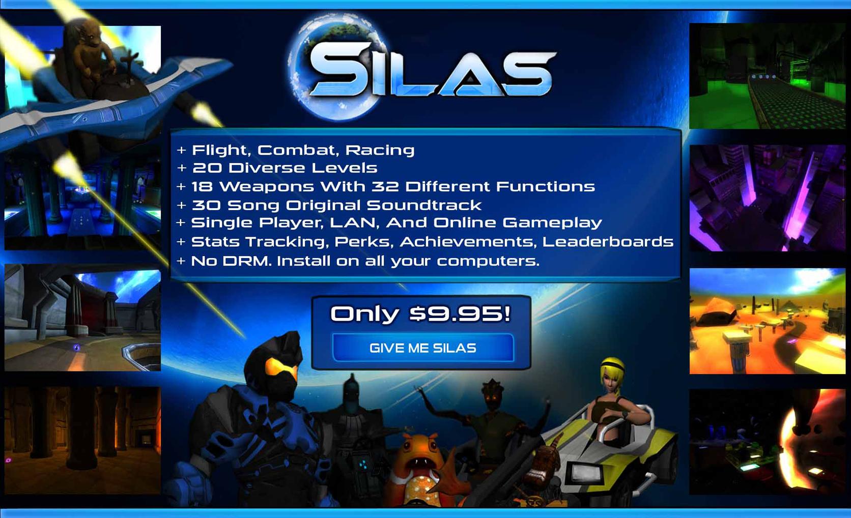 Silas Pre-Order