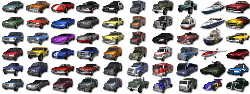 Mafia  Real Car List
