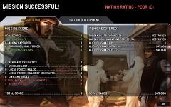 Ground Combat Victory Screen