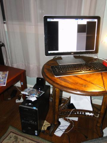 My computer setup.