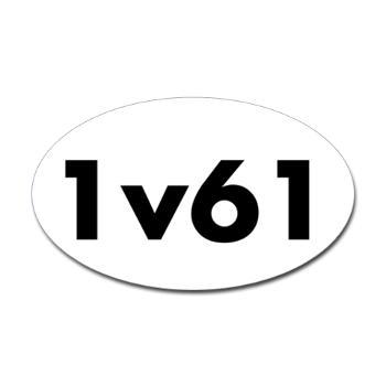 1v61 Sticker