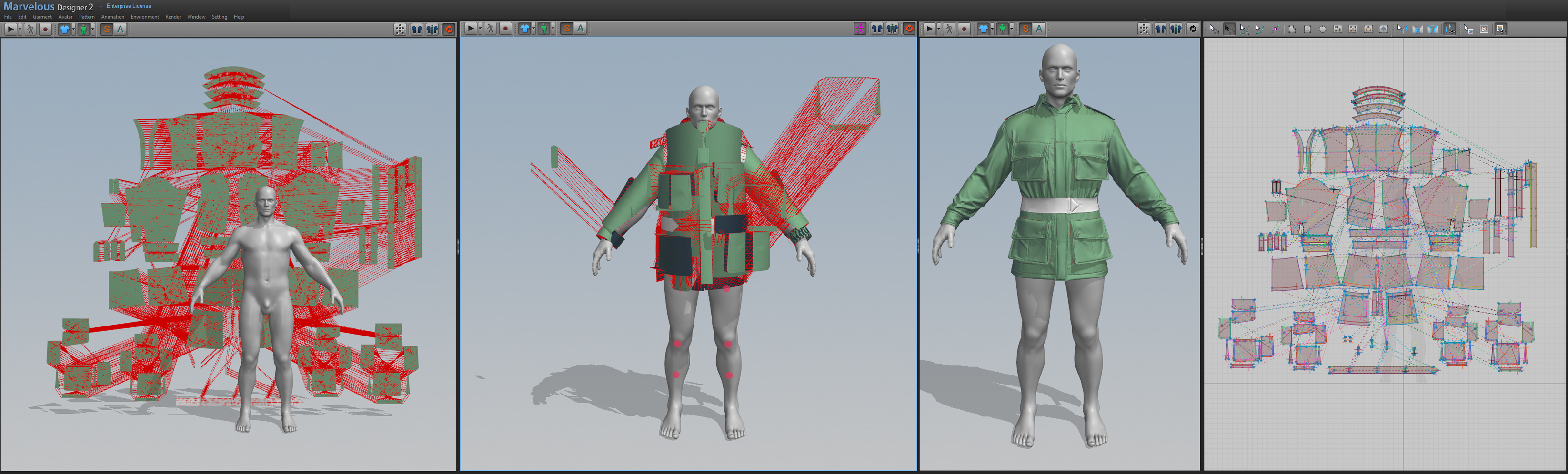 Character Design Workflow : A brief look of the character model workflow news mod db
