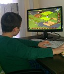 6 years old kid playing Towns