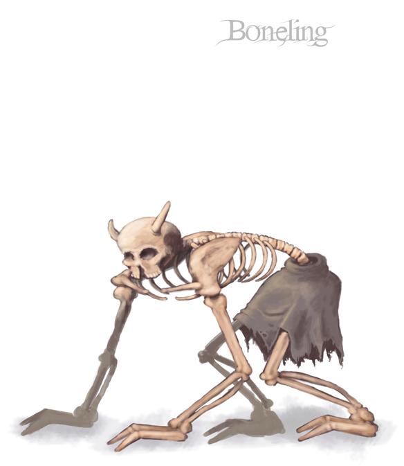 Boneling Concept Art