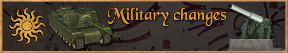 Military Changes