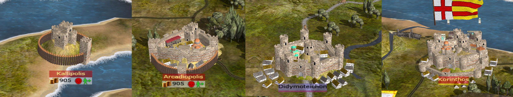 Capital City Auto >> New Strat Map Settlement Models feature - Tsardoms Total War mod for Medieval II: Total War ...