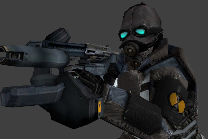 Combine Soldier Phong+Normal addon - Half-Life 2 - Mod DB