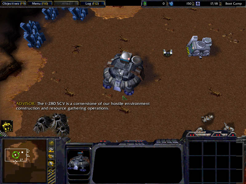 Boot Camp Campaign Video File Starcraft 1 5 Fusion Conversion
