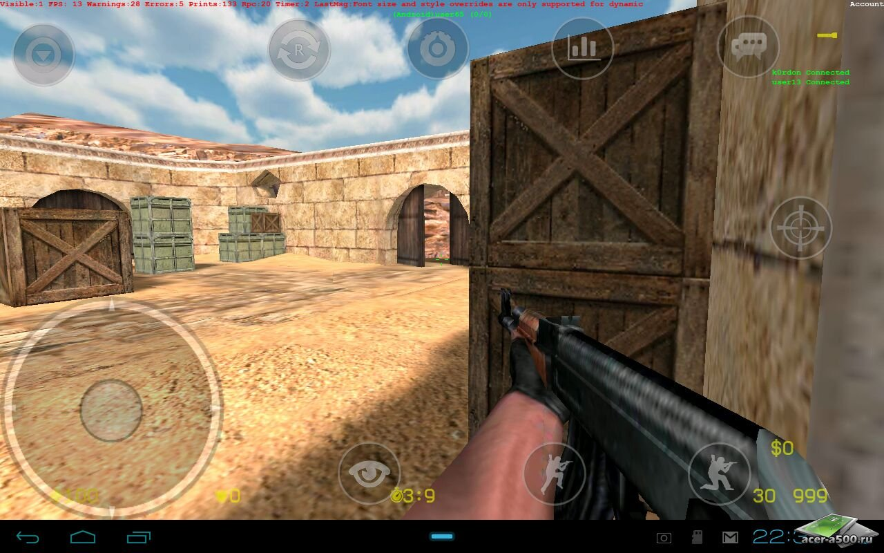 download counter strike mobile mod apk