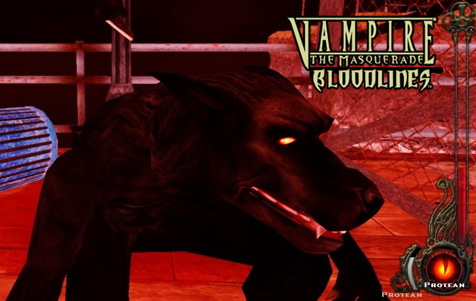 Black Werewolf Warform Gangrel addon - Vampire: The Masquerade