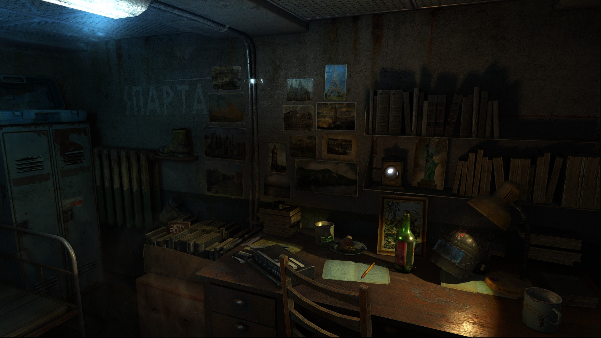 Reshade And SweetFX For Metro Last Light