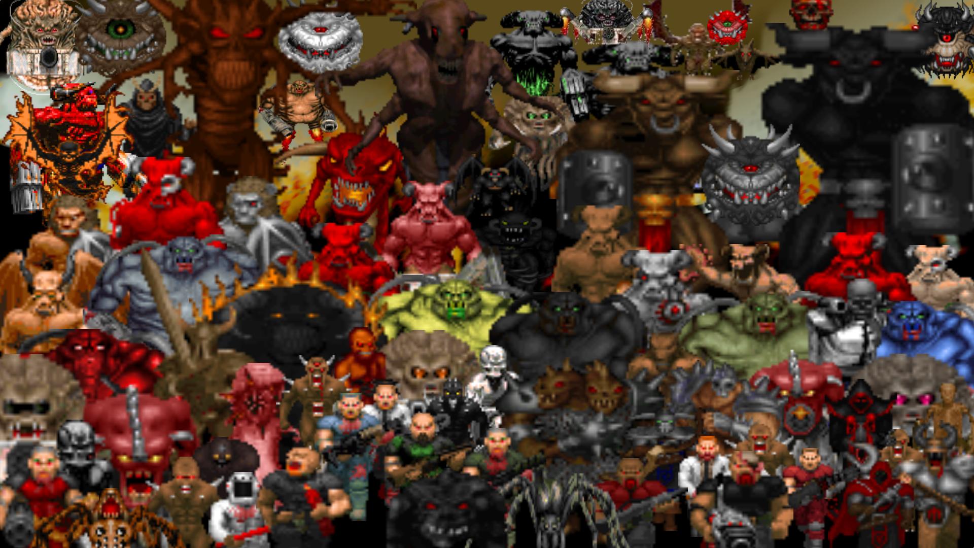 DOOM Emulation v06b Monsters! file - Mod DB