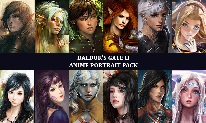 how to make your own character baldurs gate