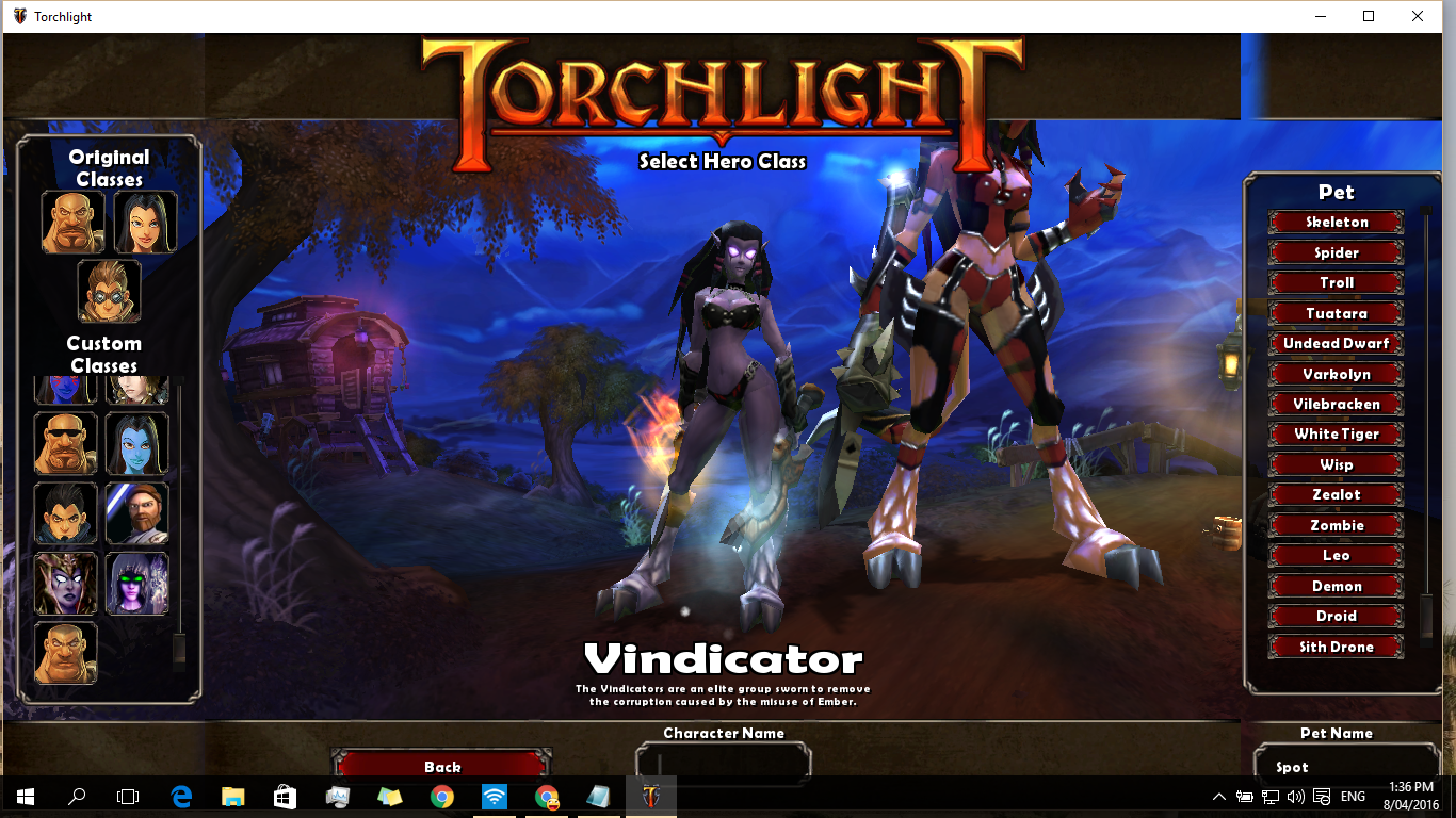 Torchlight 1 nude mods cartoon scene