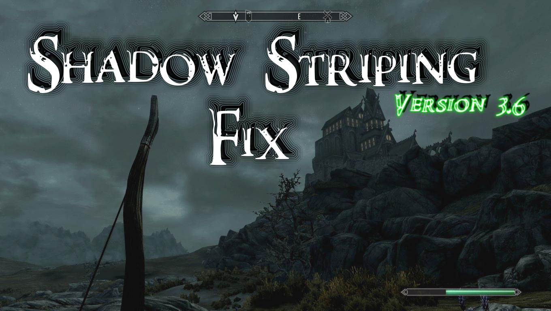 Shadows and FPS Fix file - [18+] CBBE v3 0 mod for Elder Scrolls V