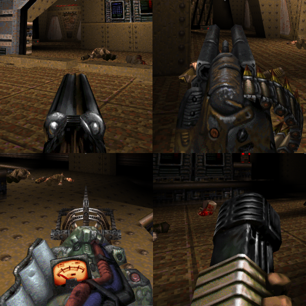 AltGuns4Q zip file - Alternative Gun Models for Quake for