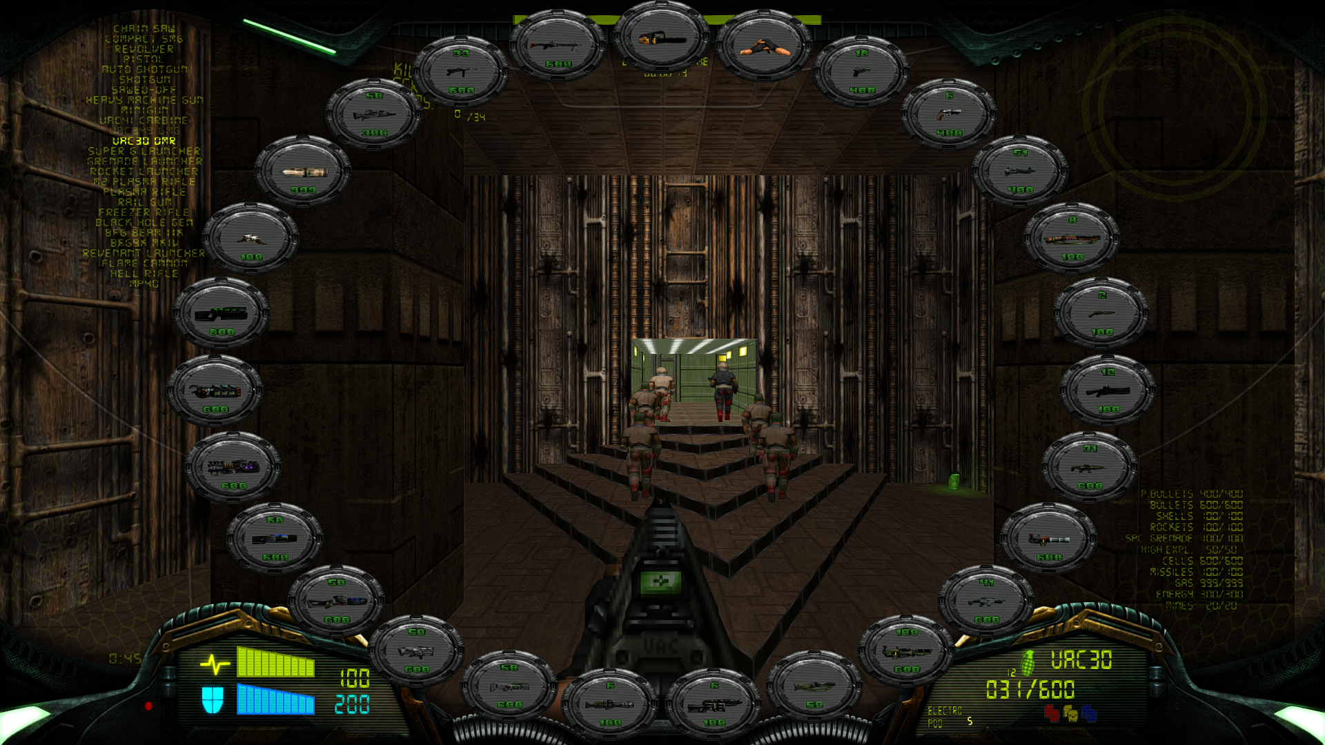 Weapon Wheel v1 54 addon - Brutal Doom mod for Doom - Mod DB
