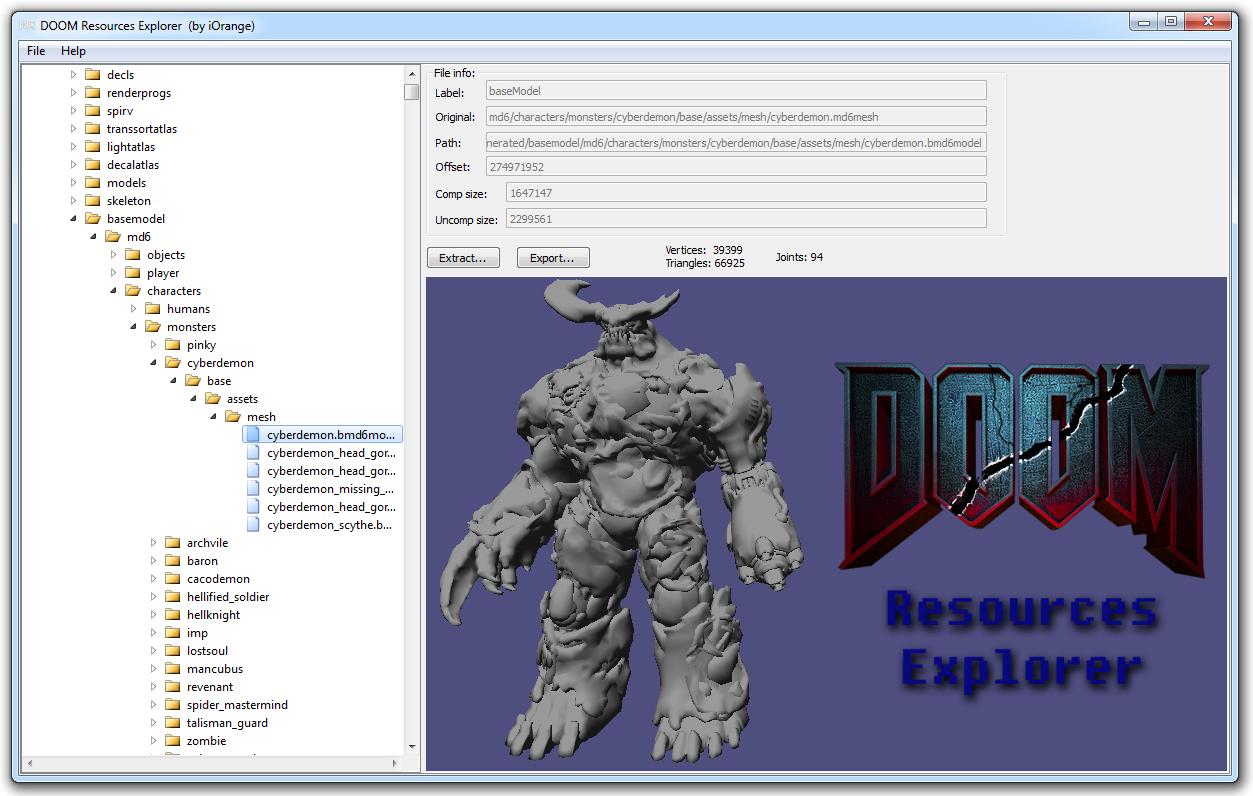 DooM Resources Explorer v0 4 file - Mod DB