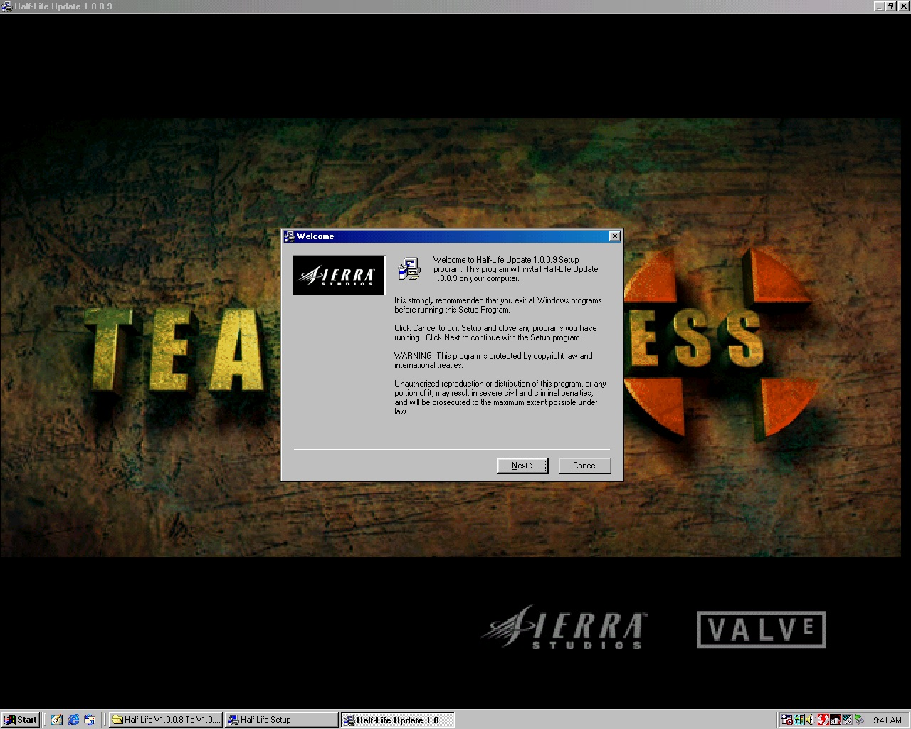Half-Life Updates Pre & Post 1 1 0 0 file - Counter-Strike