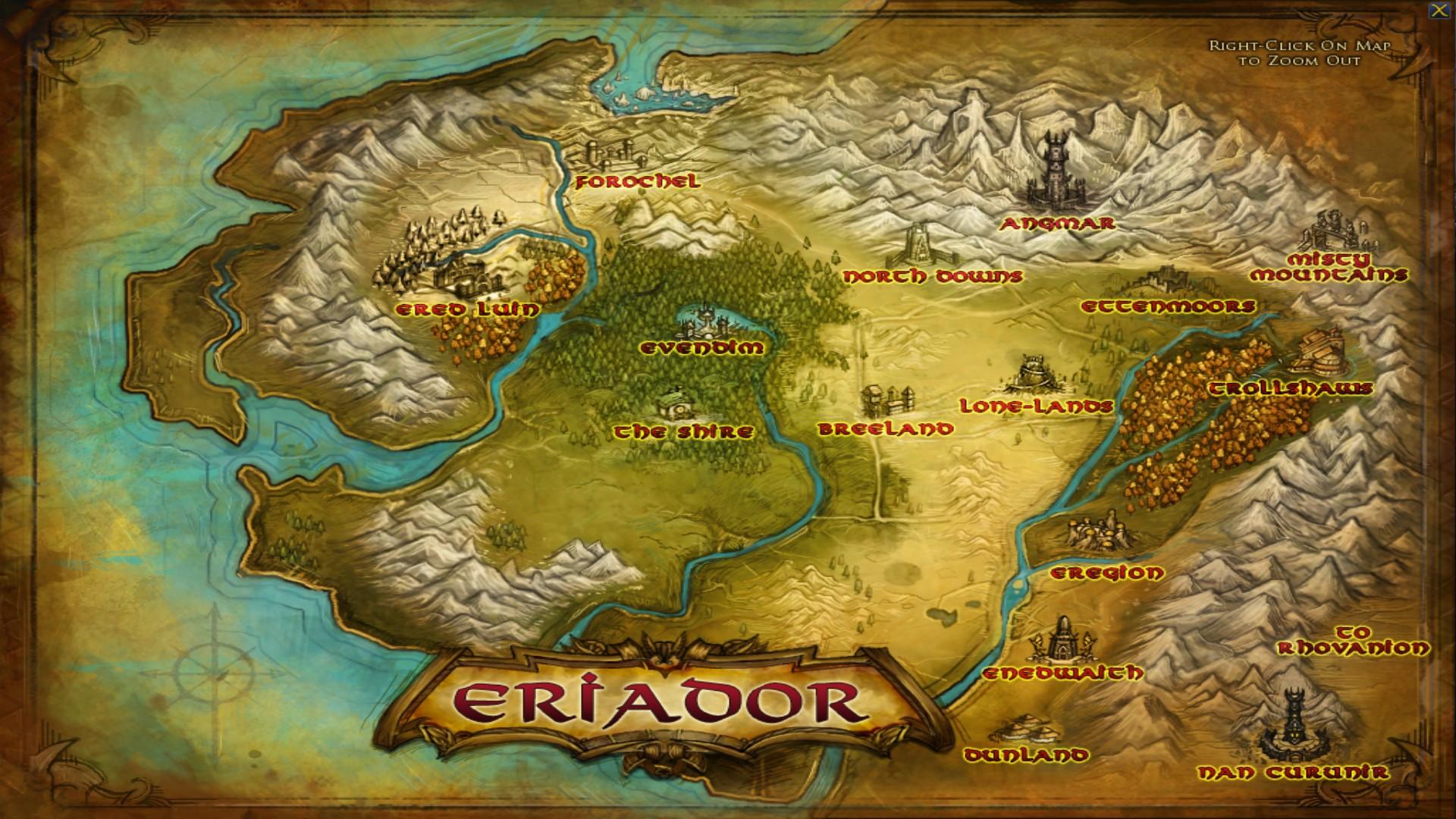 Open-world Eriador map v1 3 addon - Edain Community Content