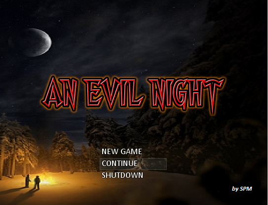 An Evil Night 1 0 OLD (with RTP) file - Mod DB