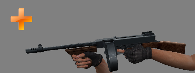 New Extra Weapon: Thompson M1A1 file - Power Weapons mod for Counter