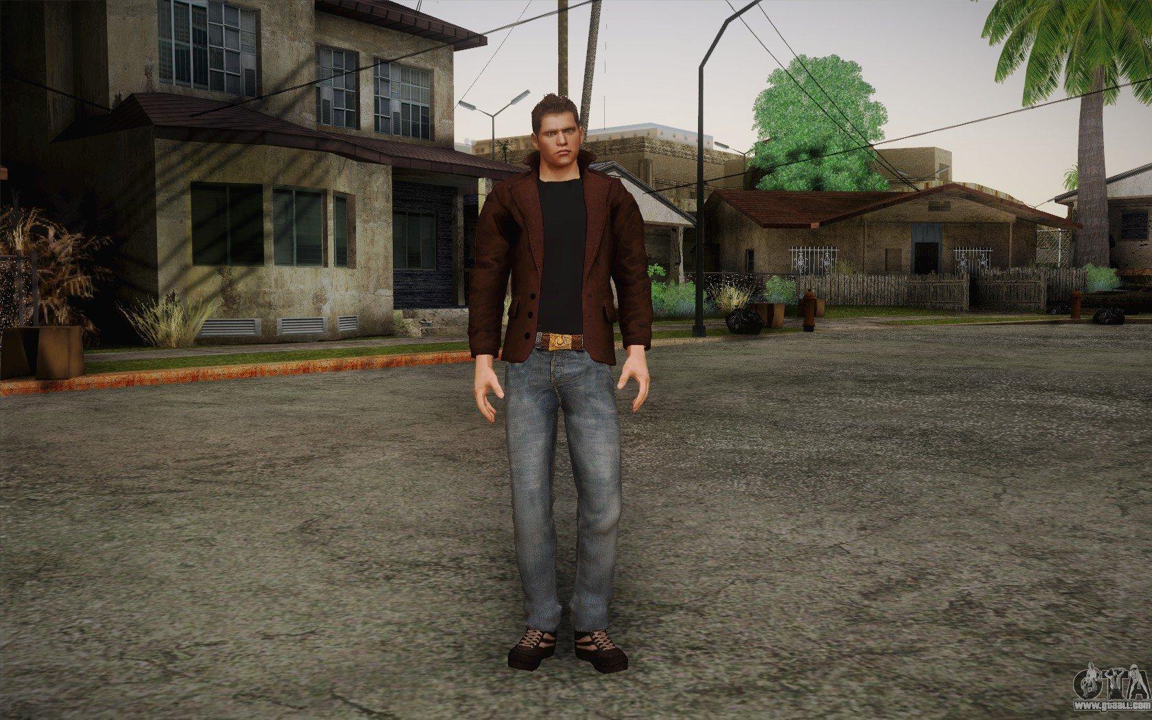 dean winchester pedestrian file - GTA Supernatural mod for Grand
