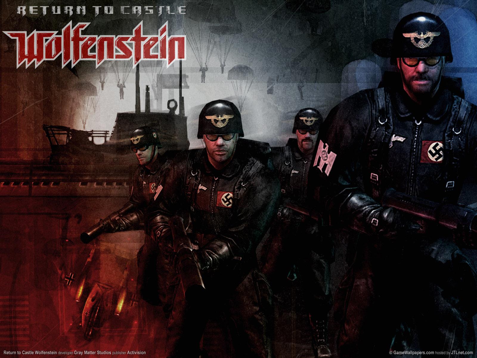 Return to castle wolfenstein (single player) best download.