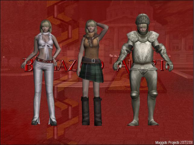 Resident evil 4-Ashley Costumes